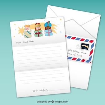 Sketchy wise men letter
