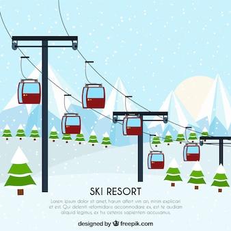 スキーリフト設計