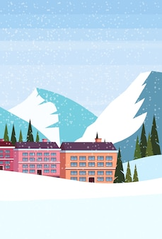 Ski resort hotel