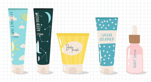 Skin care products and cosmetics