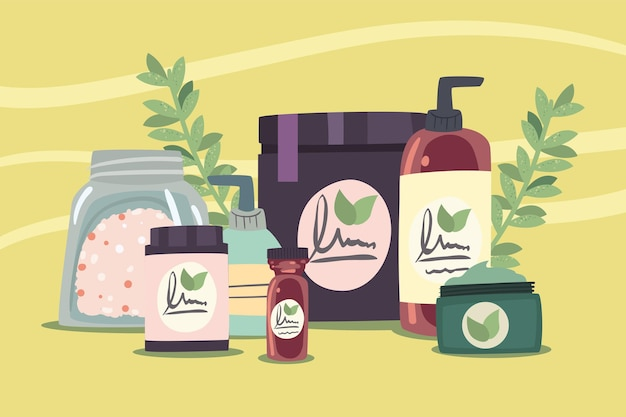 Skin care and spa products