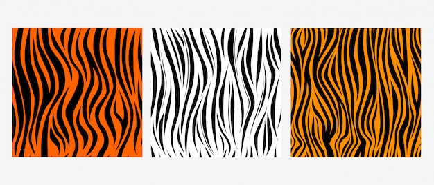 Skin-striped seamless pattern. the concept of the style of zebra