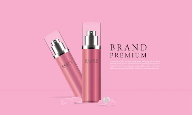Skincare spray bottle ads