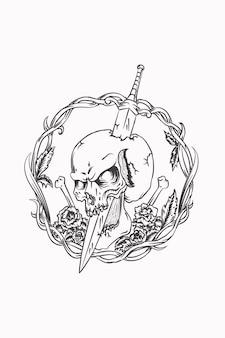 해골과 검