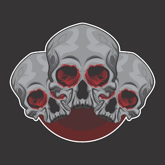 Skull brother logo