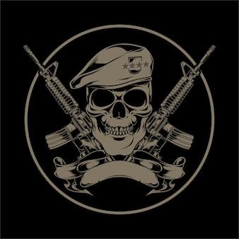 Skull bullet