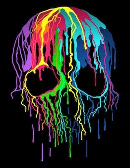 해골 색상