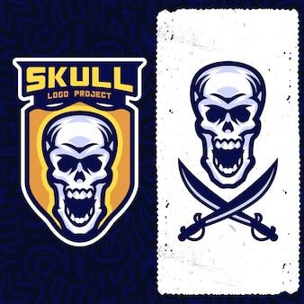 Логотип skull esports