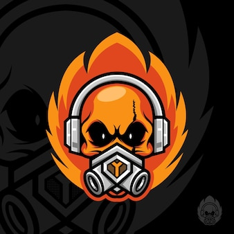 Огонь черепа