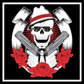 Skull gangster