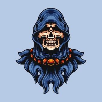 Skull under the hood
