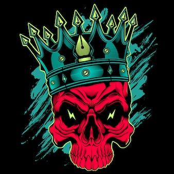 Король черепов дизайн