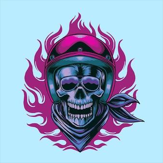 Skull motor head