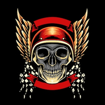 スカル モーターサイクル クラブのマスコット