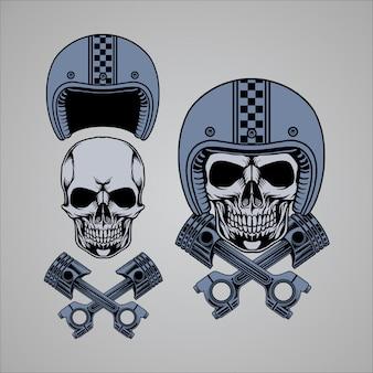 Skull piston