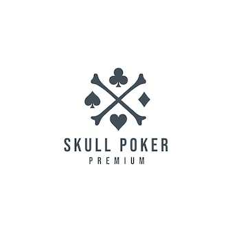 Skull poker logo_03