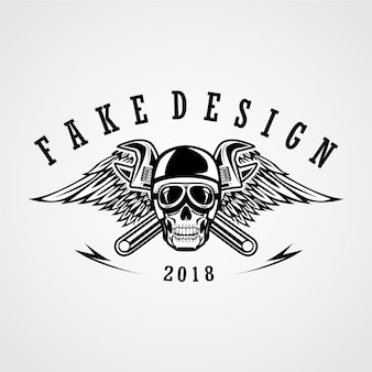Skull road patch design