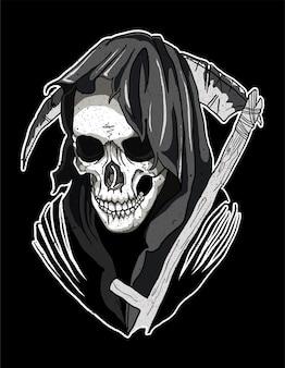 Skull santa muerte