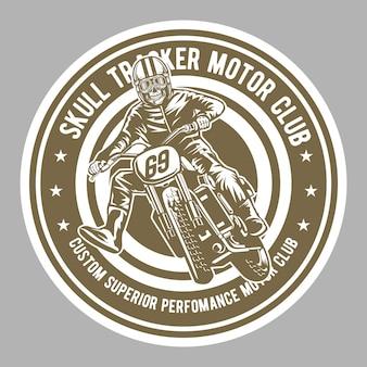Skull tracker motor club