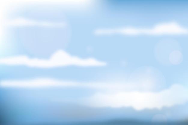 空の背景のコンセプト