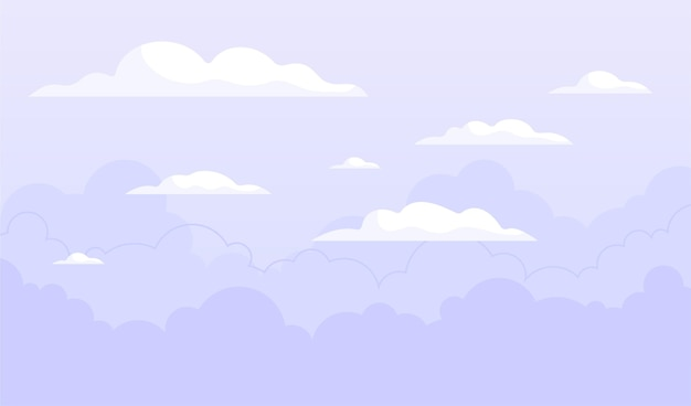 Sky background concept