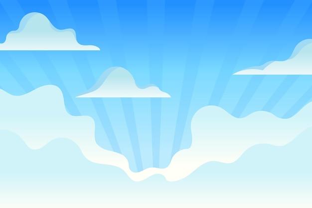 화상 회의를위한 하늘 배경