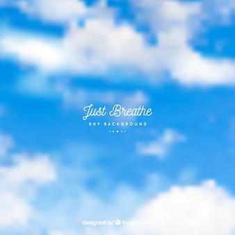Sky background just breathe