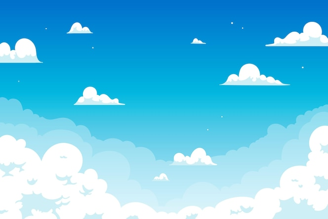 Sky background for video conference design