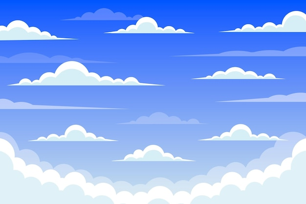 Sky background for video conference