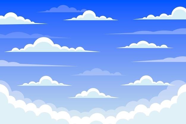 Sfondo del cielo per videoconferenza