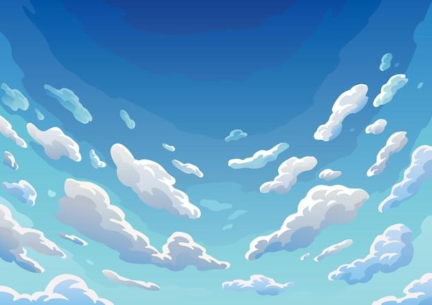 Sky clouds.