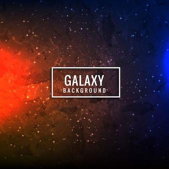 Красочный фон галактики