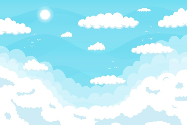 Обои sky для видеоконференций