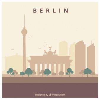 베를린의 스카이 라인 디자인
