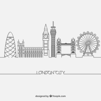 Skyline of london
