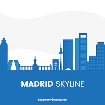 Skyline di madrid