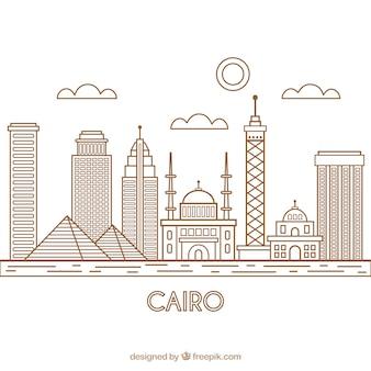 Скайлайн каир, египет