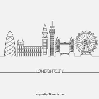 ロンドンのスカイライン