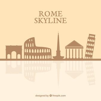 로마의 스카이 라인