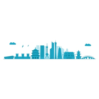 Китай skyline
