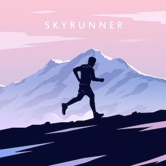 Skyrunning плакат