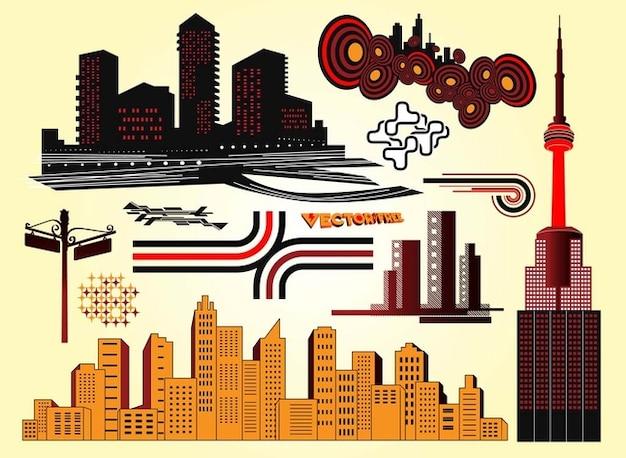 Skyscraper vector design
