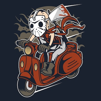 Slayer scooter