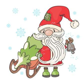 サンタsledメリークリスマス漫画