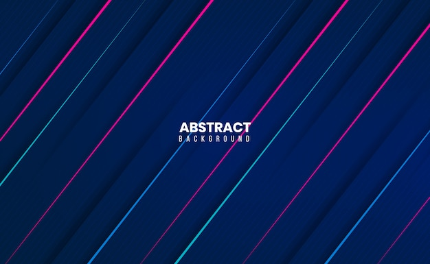 Sleek modern clean 3d abstract background
