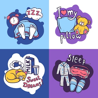 Sleep time design concept