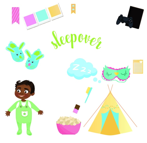 sleepover vectors photos and psd files free download