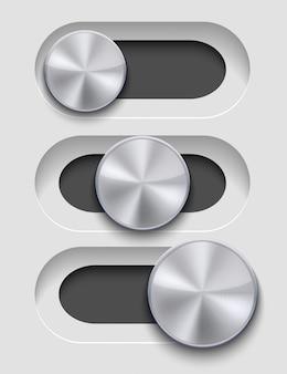 Набор слайдеров Premium векторы