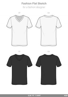 Slim fit tee shirt