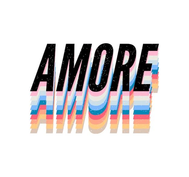 Slogan amore phrase